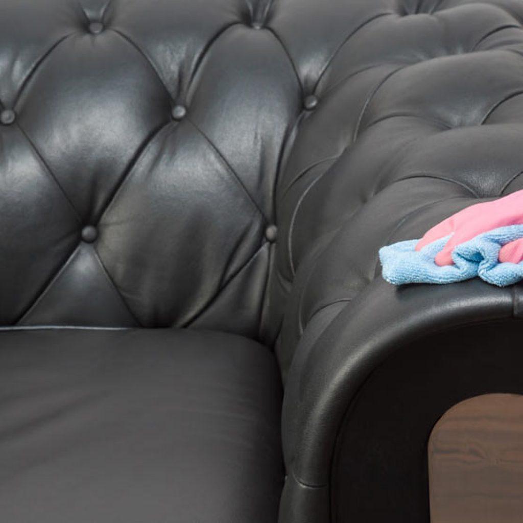 möbeltvätt skinnmöbler