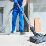 städa efter renovering